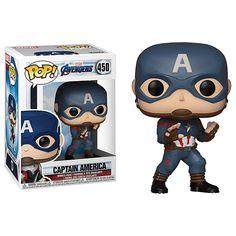 בובת פופ - Avengers End Game Captain America 464 - Funko Pop Marvel, Marvel Pop Vinyl, Marvel Avengers, Steve Rogers, Best Funko Pop, Funko Pop Dolls, Pop Figurine, Funk Pop, Pop Toys