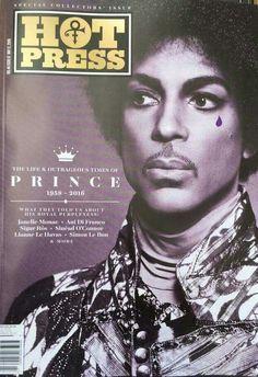 Ireland's Hot Press magazine remembers Prince