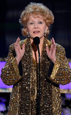 Debbie Reynolds Pokes Fun at Daughter Carrie Fisher's Star Wars Hair While Accepting Lifetime Achievement Award  Debbie Reynolds, SAG Awards, Winner
