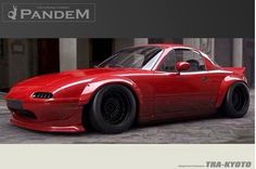 Rocket Bunny Mazda Miata 1989-97 Full Pandem NA Miata Wide-Body Aero Kit
