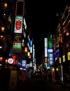 Korea Night Street