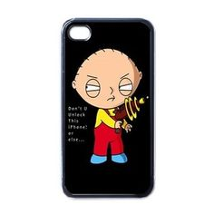 """Family Guy """"Don't U Unlock This iPhone or Else..."""" #iPhone 4/4S Case"""