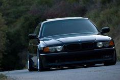 Stance e38   E38 BMW 740iL Dumped Dumped Dumped! » BMW-e38-740i-745-slammed-sedan ...