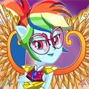 Equestria Girls Crystal Guardian Rainbow Dash