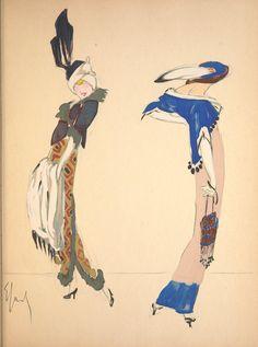 Enrico Sacchetti 《Robes et femmes》(1913)
