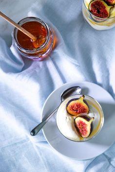 Light Desserts, Winter Desserts, Thanksgiving Desserts, South African Recipes, Figs, Parfait, Sweet Recipes, A Food, Dessert Recipes