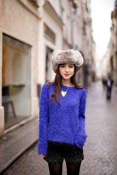 Electric ! Faux Fur, Winter Hats, Hipster, Style Inspiration, My Style, Womens Fashion, Electric, How To Wear, Drop