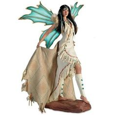 Mystical Maidens of the Desert Sky. www.teeliesfairygarden.com . . . She who paints the desert sky with elegance is the mystical maiden of the desert sky. A doll who's as wondrous as nature itself. #collectorfairy