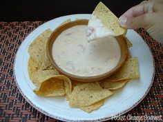 Queso Cheese Dip Ingredients  1 pound Chihuahua Cheese 1/4 to 1/2 cup heavy whipping cream {this comes in a small carton near the milk, you can also use milk or half-and-half} 3 tablespoons Pico de Gallo