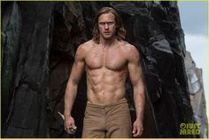 Alexander Skarsgard Tarzan | Alexander Skarsgard's Abs Are Totally Insane in New 'Legend of Tarzan ...