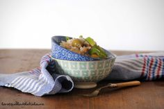 La Rosquilla de la Tia Laura: ENSALADA DE ARROZ CON TRAMPO MALLORQUIN {#ponunaensalada2014} Serving Bowls, Tableware, Crochet, Rice Salad, Homemade, Dinnerware, Tablewares, Ganchillo, Dishes