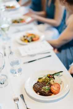 Host your event at Alpine Ski Club and taste the delicious fare of Men with Knives Catering.  Photography by Corynn Fowler