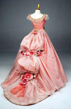 Costume Design... Christine's Masquerade Dress, designed by Alexandra Byrne, Phantom of the Opera (2004).