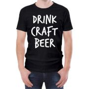 #Beershield Drink Craft Beer Mens T-Shirt - L - Black #This light hearted T-shirt is the perfect gift for any beer fan. Crafted from 100% soft Cotton this regular fit T-Shirt has a stylised beer themed print on the front, a crew neck and short sleeves. Perfect for any dedicated hop fan! Features: T-Shirts are 100% Cotton Ethically Sourced Slim fit - if that™s not your thing, order a size up