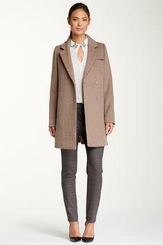 Dawn Levy Cathy Wool Blend Coat | Nordstrom Rack