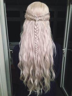 khaleesi hair