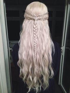 khaleesi hair