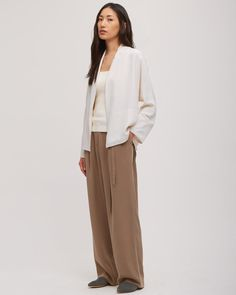 Silk Cady Kimono Jacket