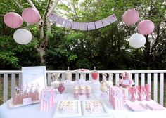Australian Company. Childrens party ideas. Cheap. Affordable. Pretty.Girl. Elephant theme. Pink. white.