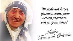 Mother Teresa Quotes, Gods Love Quotes, Catholic Saints, Sentences, Christianity, Religion, Prayers, Funny Quotes, Motivation
