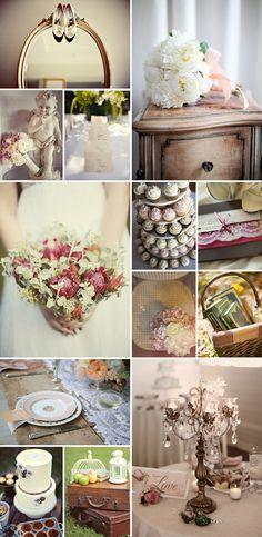 Ideas vintage para bodas en septiembre