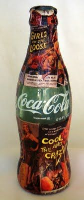 'B' Movie Poster Glass  Coca-Cola Bottle