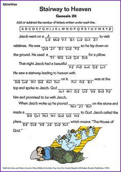 Stairway to Heaven (Jacob Puzzle) - Kids Korner - BibleWise
