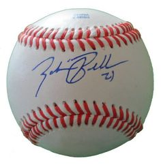 Zach Braddock Autographed ROLB Baseball, Milwaukee Brewers, Proof Photo by Southwestconnection-Memorabilia. $34.99. This is a Zach Braddock autographed Rawlings official league baseball. Zach signed the ball in blue ballpoint pen. Check out the photo of Zach signing for us. Proof photo is included for free with purchase. Please click on images to enlarge. 1
