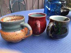 Picture of Enjoy Your Beautiful Mugs With Exotic Handles!
