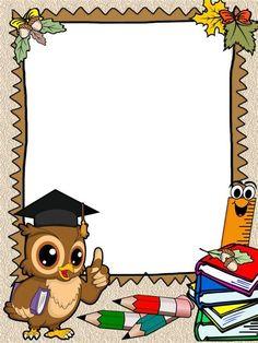 Orlas: Pergaminos   Caratulas Para Trabajos, Modelos De En Boarder Designs, Frame Border Design, Page Borders Design, Kids Background, Creative Background, Cartoon Background, Background Designs, Art Drawings For Kids, Art For Kids