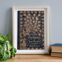 With these framed prints of original first edition book covers, classic novels like Jane Eyre, Dracula, and Lolita become wall art. Book Lovers Gifts, Book Gifts, Book Cover Art, Book Art, Book Covers, Gifts For Readers, Zodiac Art, Last Minute Gifts, Lovers Art