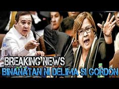 "Leila De Lima Slammed Sen. Dick Gordon as ""railroading"" Senador! - WATCH VIDEO HERE -> http://dutertenewstoday.com/leila-de-lima-slammed-sen-dick-gordon-as-railroading-senador/   Tinawag ni De lima si Saen. Gordon na Railroading Senator dahil Ginagamit daw di umano ang house justice Commitee para tirahin sya labn kay president duterte. Watch the latest Related Videos HERE: LIKE, SHARE, REACT and Post your COMMENT Dont Forget to Subscribe: Like Us On..."
