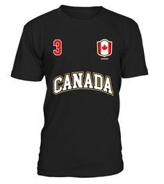 Kanada Canada WM 2018 T-Shirt Trikot Style Fußball Nummer ALL 10 Sport