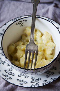 Gnocchi con burro e gorgonzola