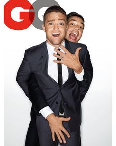GQ Photoshoot with Jimmy Fallon & Justin Timberlake