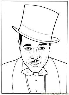 Free Printable Black History Worksheets | black history coloring ...