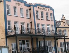 Hotel Continental, Whitstable...nice for breakfast or fish n chips outside in the summer