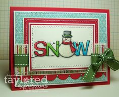 snow...........LOVE IT!!!.want to do this for GBD