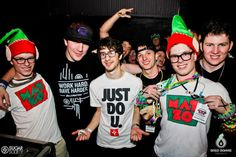 Billionaires fans kicking it with Mat Zo in Charlotte, NC