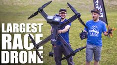 World's Largest Race Drone | Flite Test - YouTube