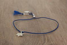 Délicat bracelet avec perles en argent sterling par Bloomarine