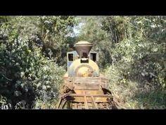 O resgate da locomotiva 18 da Estrada de Ferro Perus Pirapora.