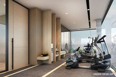 Gym Interior, Interior Design, Clubhouse Design, Mini Gym, Luxury Gym, Hotel Gym, Gym Room At Home, Gym Lockers, Home Gym Design