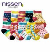 Nissen cotton children socks / non-slip small Tongwa / color baby socks / floor socks 3022