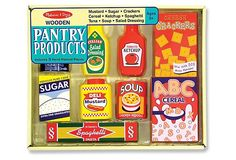 Pantry products Melissa and Doug