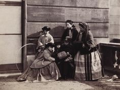 Princess Louise, Princess Helena, Princess Beatrice, Prince Alfred, Princess Alice and Queen Victoria, Buckingham Palace | Royal Collection Trust