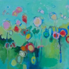 Wonderland. Corre Alice #colorful #abstract #art