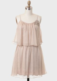 Tuscan Rendezvous Tiered Dress. Would be pretty bridesmaid dresses, not as formal.