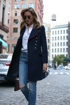 Military Coat | MEMORANDUM | NYC Fashion & Lifestyle Blog for the Working Girl