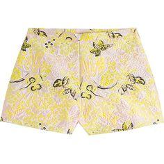 Giambattista Valli Jacquard Shorts (€305) ❤ liked on Polyvore featuring shorts, multicolor, colorful shorts, jacquard shorts, patterned shorts, mini shorts and giambattista valli